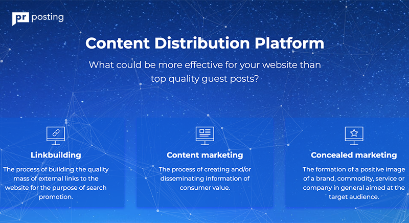 Content Distribution Platform PRposting Has Gathered 44 K Publishisher to Promote Any Site